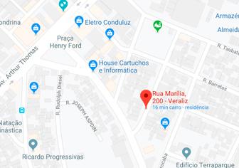 Localização Hipnose Clínica Londrina